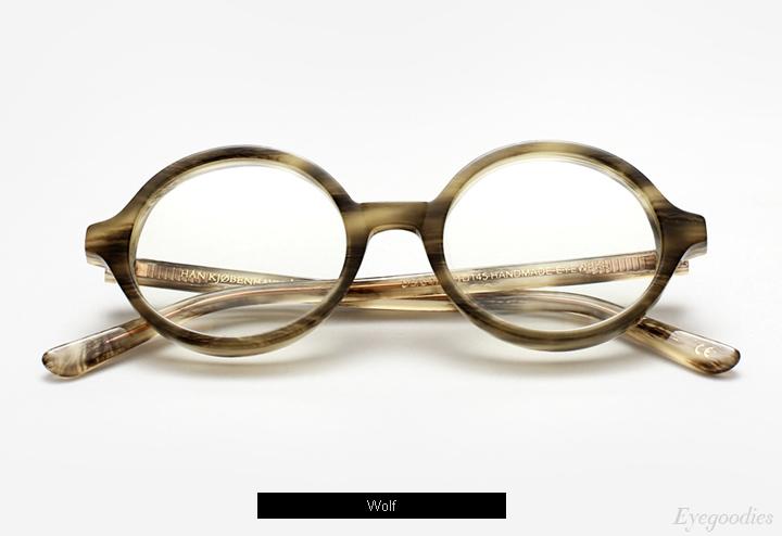 Han Doc - Wolf eyeglasses w/ Clip