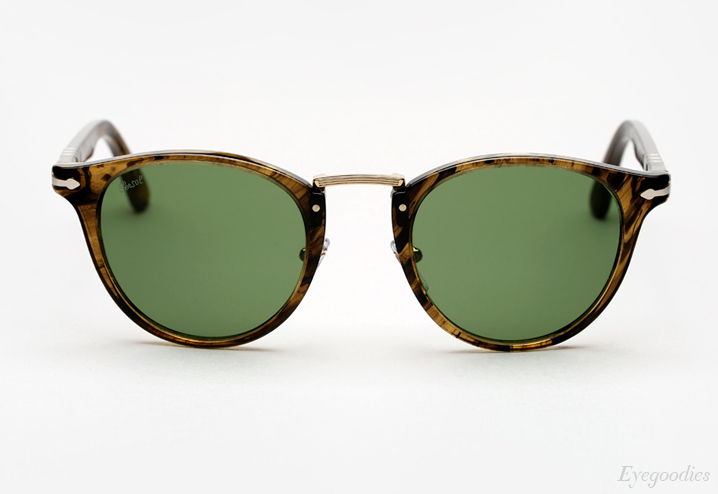 Persol 3108 Typewriter Edition sunglasses - Striped Brown