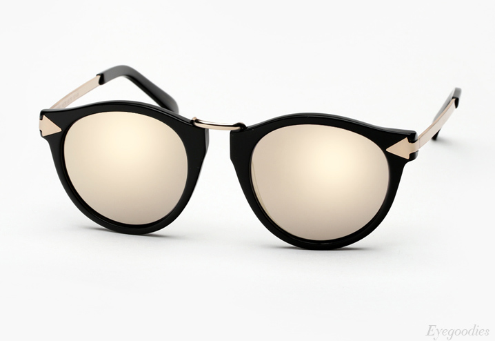 Karen Walker Helter Skelter Superstars sunglasses