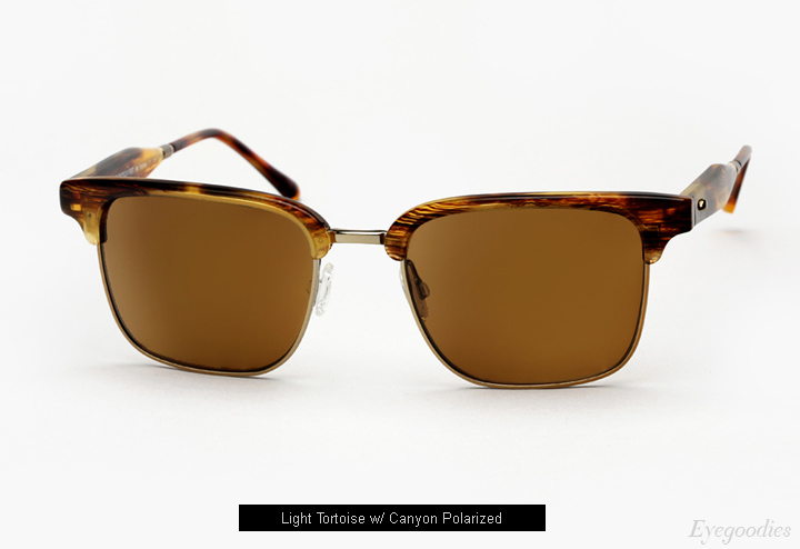 Oliver Peoples West Ajax Sunglasses - Light Tortoise