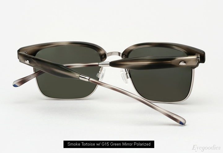 Oliver Peoples West Ajax Sunglasses - Smoke Tortoise