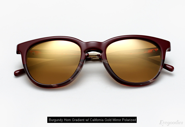 Oliver Peoples West Beech sunglasses - Burgundy Horn Gradient