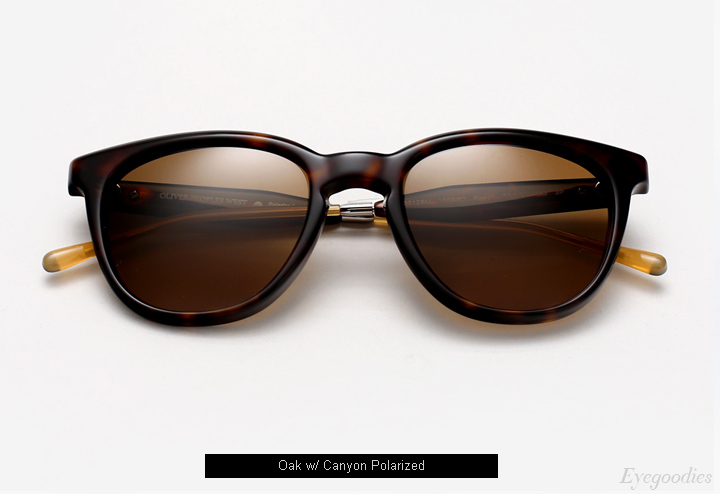 Oliver Peoples West Beech sunglasses - Oak