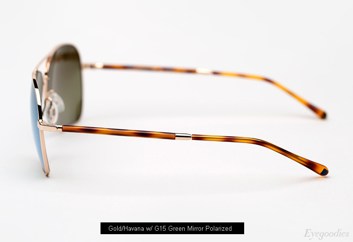 Oliver Peoples West Vanalden Sunglasses - Gold/Havana