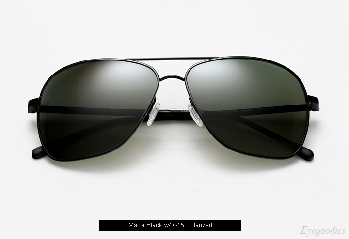 Oliver Peoples West Vanalden Sunglasses - Matte Black