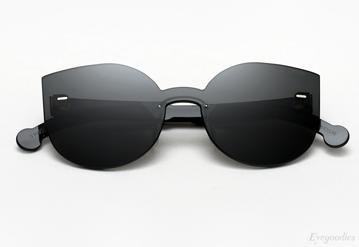 Super Lucia Tuttolente Black sunglasses
