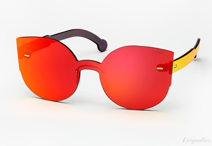 Super Lucia Tuttolente Red sunglasses