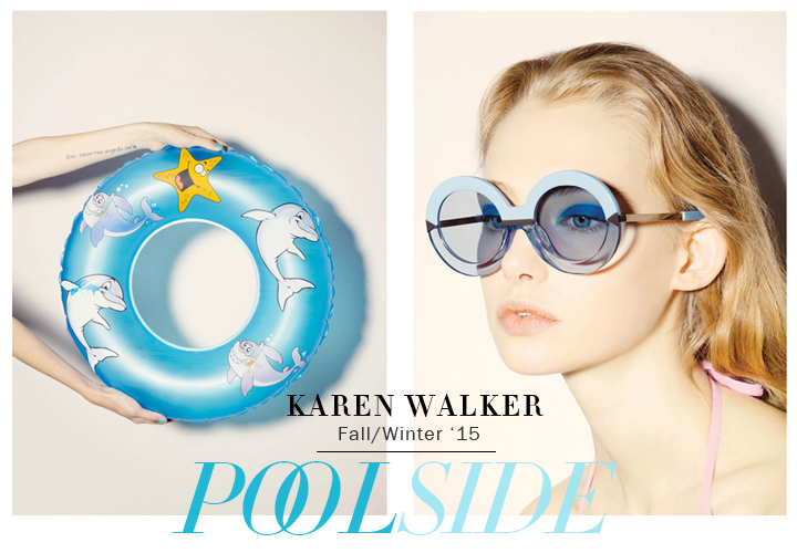 Karen Walker Sunglasses - Poolside FW 2015