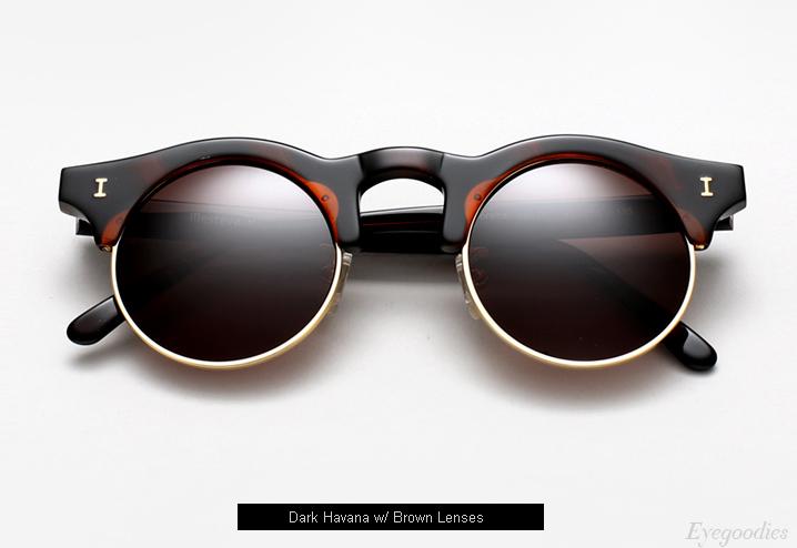 Illesteva Corsica Sunglasses - Havana