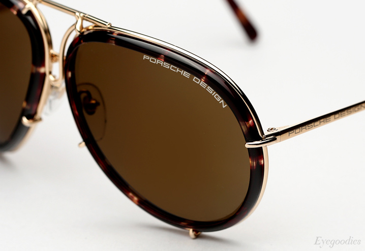 Porsche Design P'8613 Sunglasses - Gold