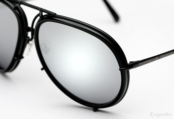 Porsche Design P'8613 Sunglasses - Matte Black