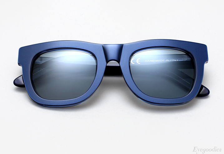 Super Ciccio Metallic Blue sunglasses