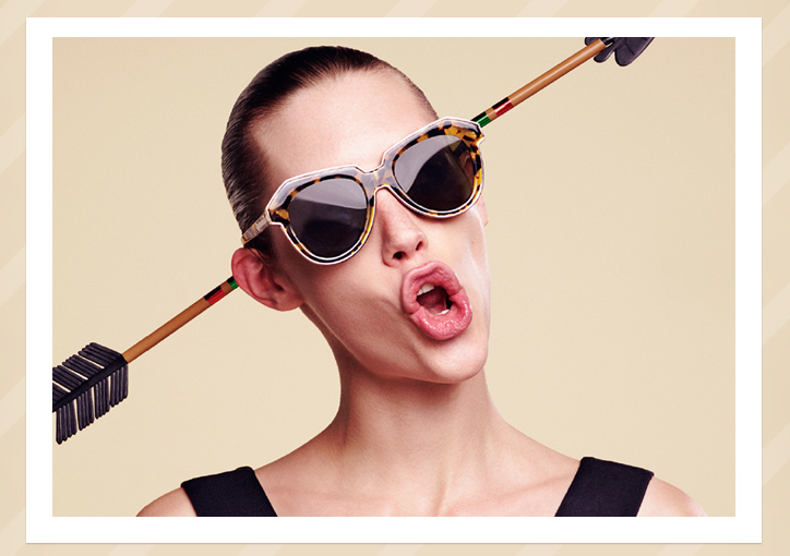 Karen Walker One Astronaut sunglasses - Tortoise