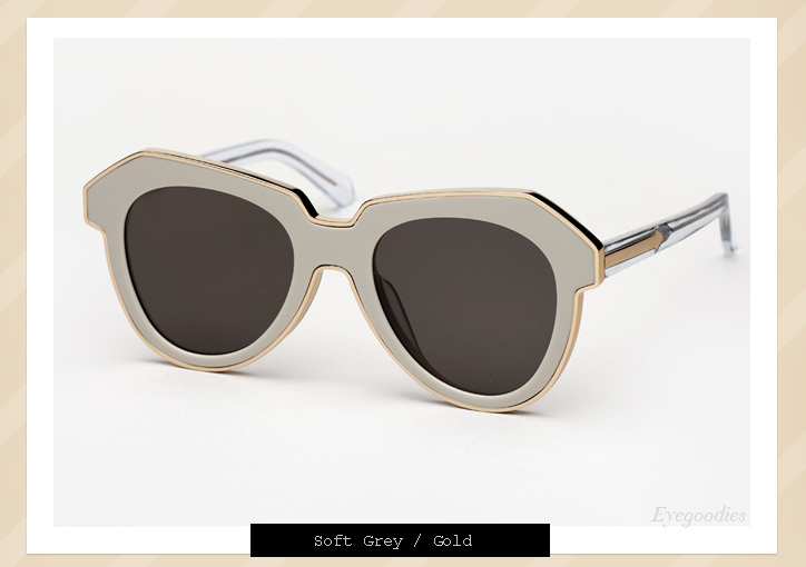 Karen Walker One Astronaut sunglasses - Soft Grey