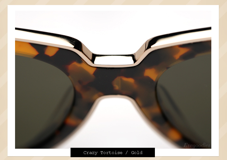 Karen Walker One Astronaut sunglasses - Tortoise