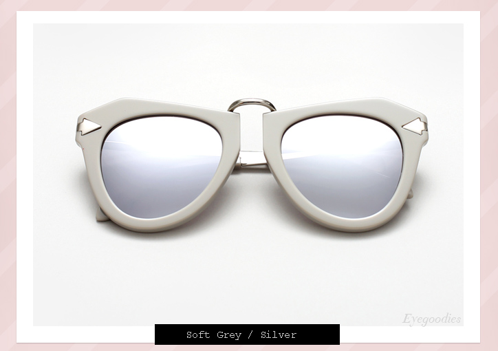 Karen Walker One Orbit sunglasses - soft greyKaren Walker One Orbit sunglasses - soft grey
