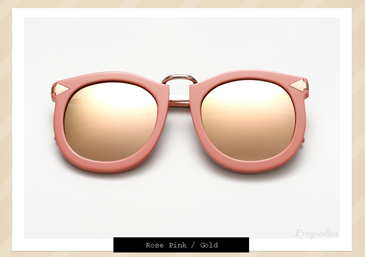 Karen Walker Super Lunar sunglasses - Rose Pink