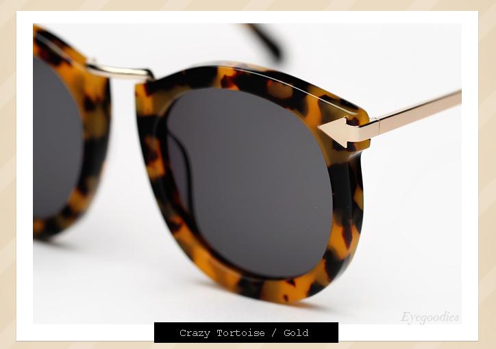 Karen Walker Super Lunar sunglasses - Tortoise