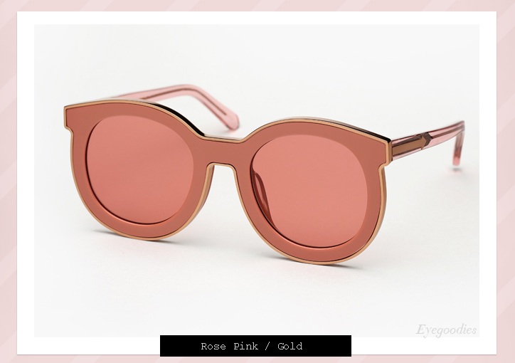 920f1db8071 ... Karen Walker Super Spaceship sunglasses - Rose Pink ...