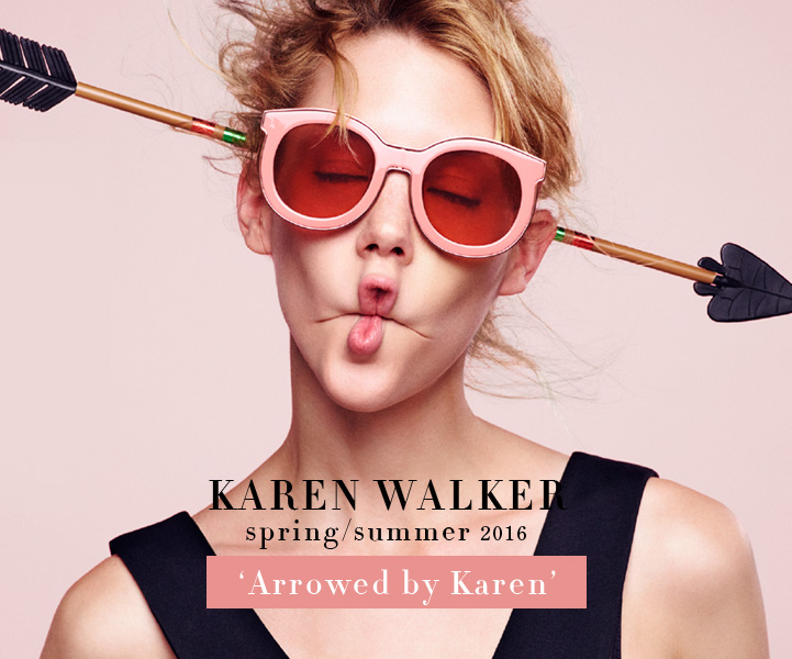 Karen Walker Sunglasses - SS 2016 Arrowed by Karen