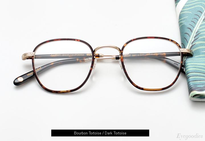 Garrett Leight Grant eyeglasses - Bourbon Tortoise
