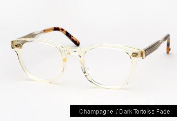 Garrett Leight Warren Eyeglasses - Champagne
