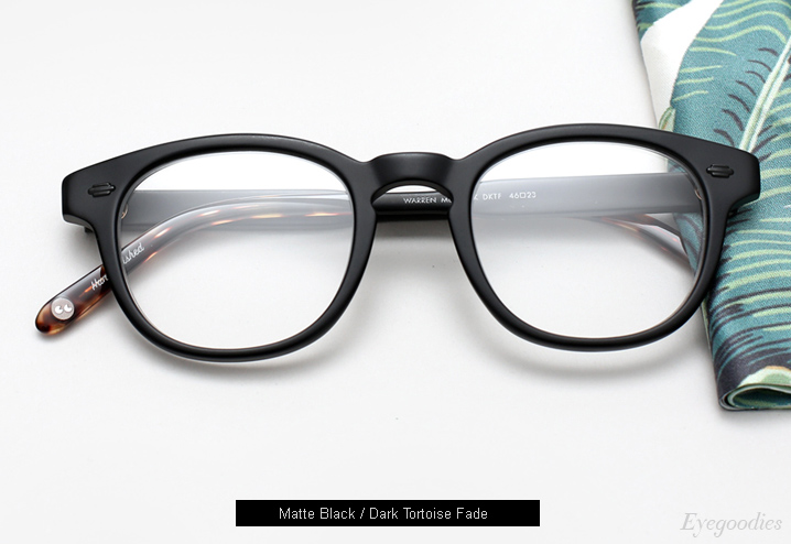 Garrett Leight Warren Eyeglasses - Matte Black