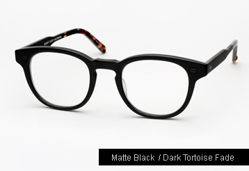 Garrett Leight Warren Eyeglasses - Matte Black