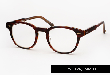 Garrett Leight Warren Eyeglasses - Whiskey Tortoise