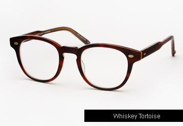 Garrett Leight Warren Eyeglasses - Whiskey Tortoise