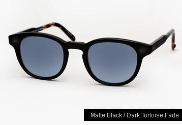 Garrett Leight Warren Sunglasses - Matte Black