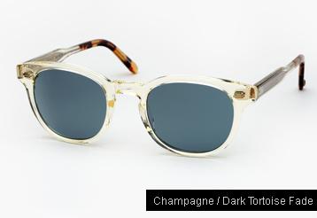 Garrett Leight Warren Sunglasses - Champagne