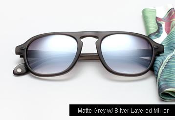 Garrett Leight Grayson sunglasses - Matte Grey