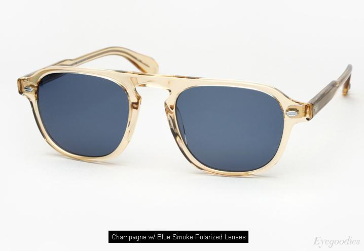 Garrett Leight Grayson sunglasses - Champagne