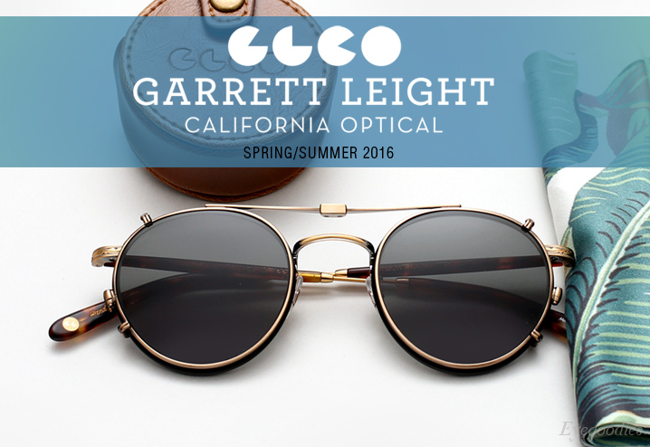 Garrett Leight Spring Summer 2016