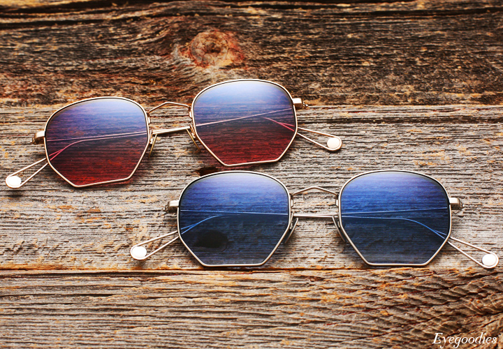 Garrett Leight X Mark McNairy, Liberty sunglasses