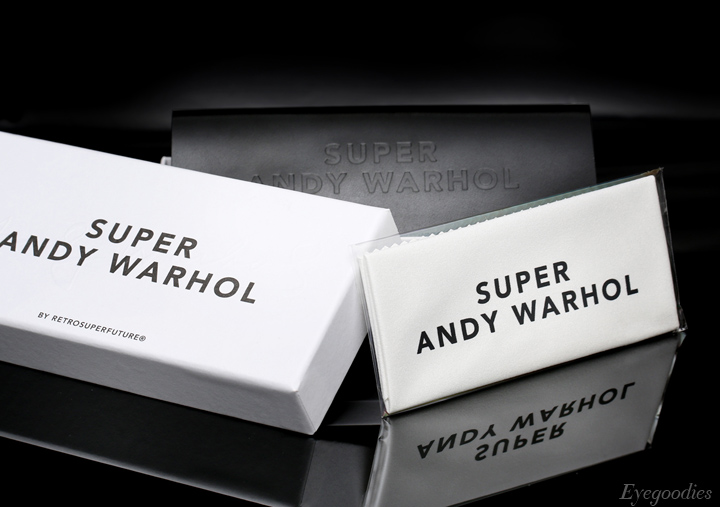 Super Andy Warhol - The Iconic  Limited Edition - packaging