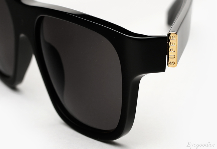 Super Buzz Black Sunglasses