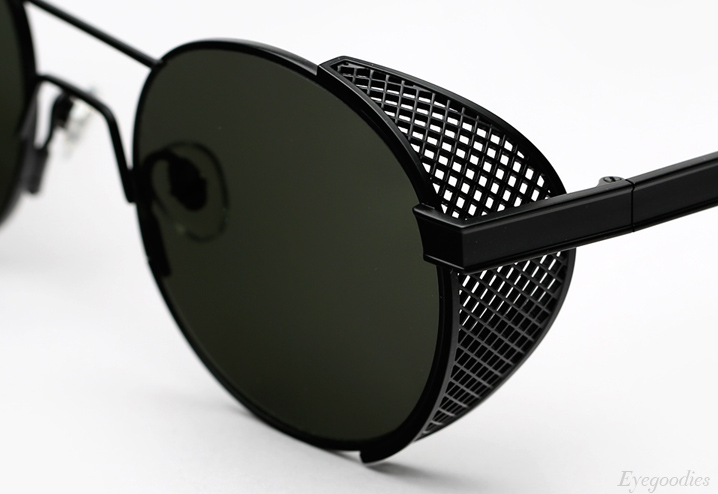 Han Green Outdoor sunglasses - Matte Black