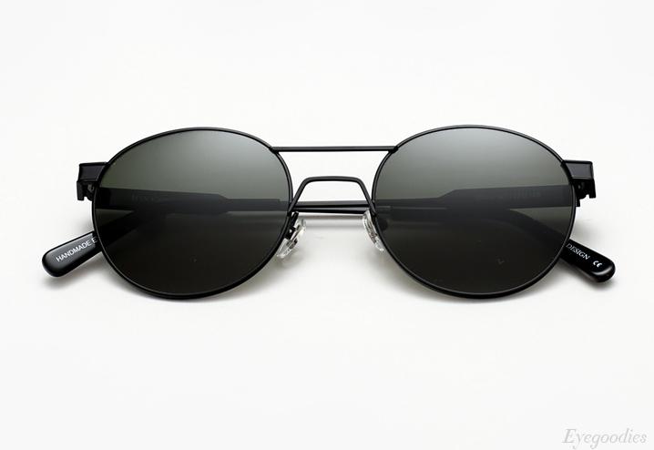 Han Green sunglasses - Matte Black