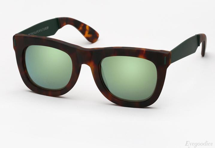 Super Ciccio Francis Squadra Green sunglasses