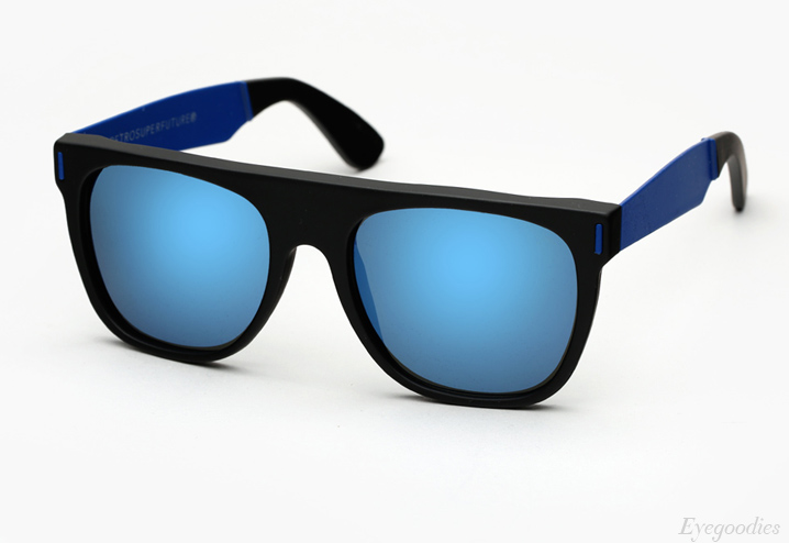 Super Flat Top Francis Squadra Blue sunglasses