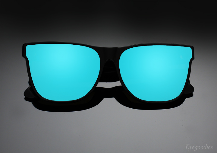 Super Basic Forma Blue Sunglasses