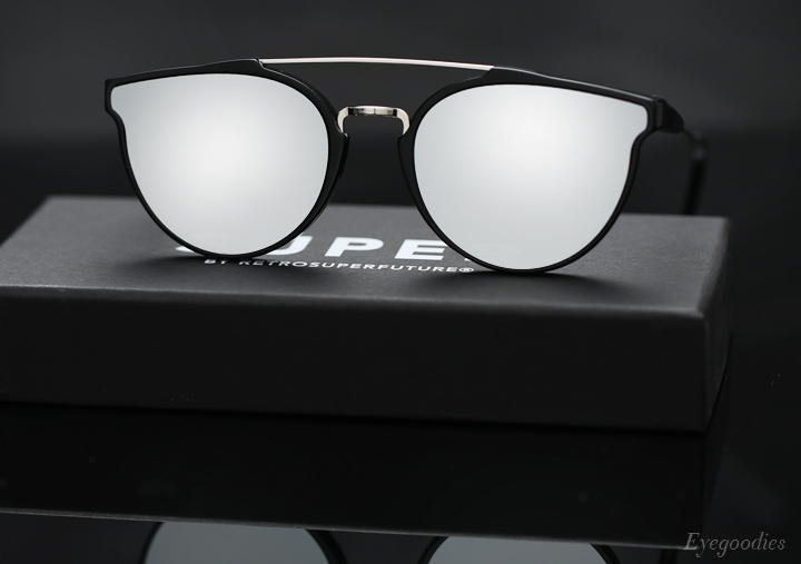 Super Jaguar Forma Silver sunglasses
