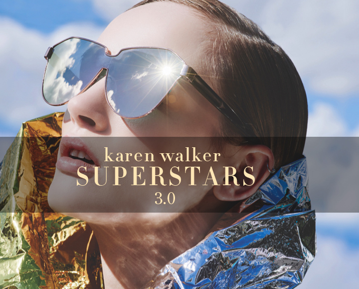 Karen Walker Superstars sunglasses 2016