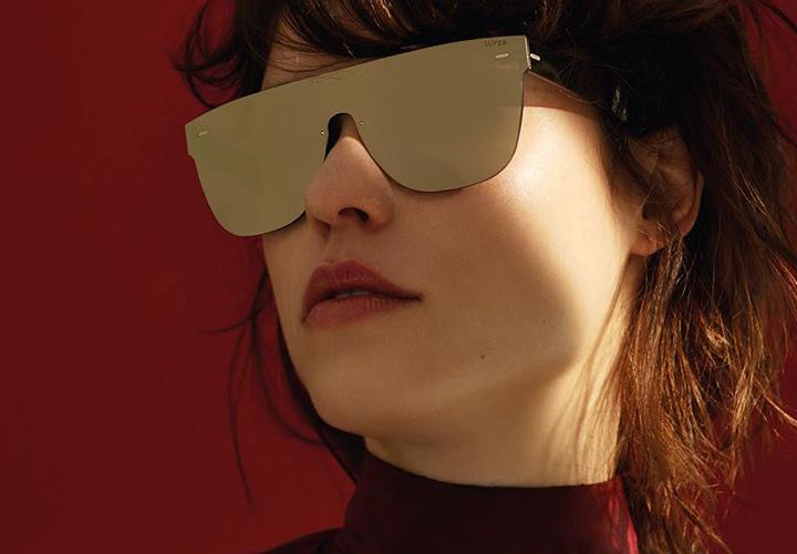 Super Flat Tuttolente Ivory sunglasses