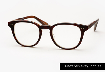 Garrett Leight Mckinley Eyeglasses - Matte Whiskey Tortoise