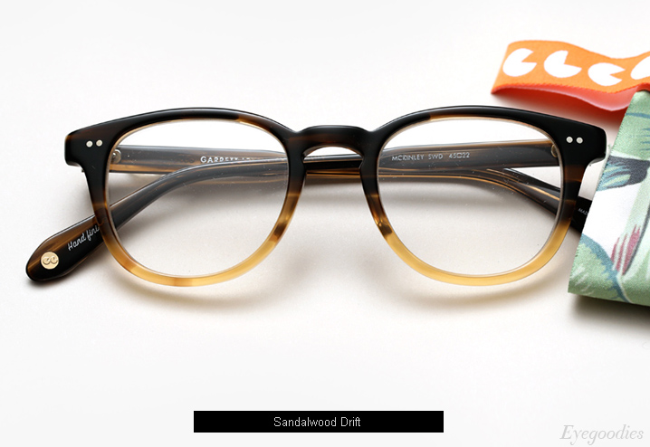 Garrett Leight Mckinley Eyeglasses - Sandalwood Drift