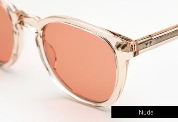 Garrett Leight Mckinley Sunglasses - Nude