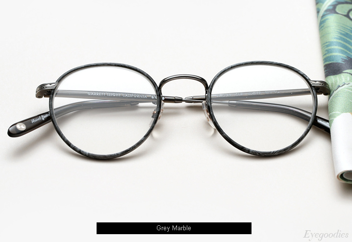 Garrett Leight Wilson eyeglasses - Grey Marble